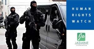 """جلسة استماع إلى""""هيومن رايتس ووتش"""" حول مشروع قانون مكافحة الإرهاب"""