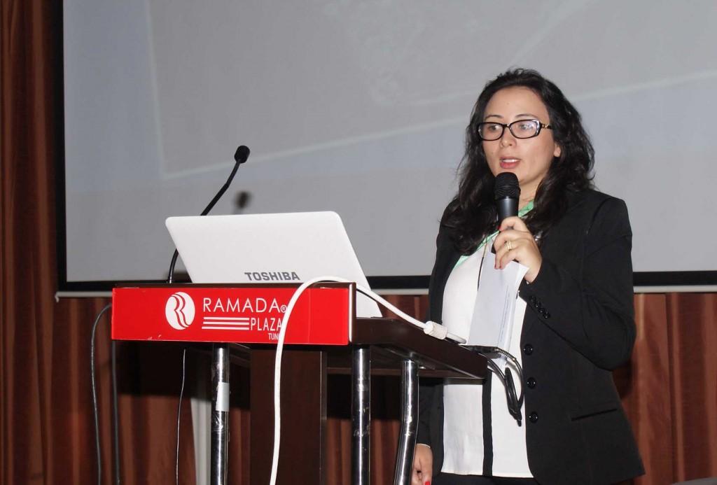 السيدة دنيا التركي –نائب رئيس جمعية التربية البيئية بالحمامات