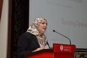 تسنيم شيرشي - مديرة مؤسسة الياسمين