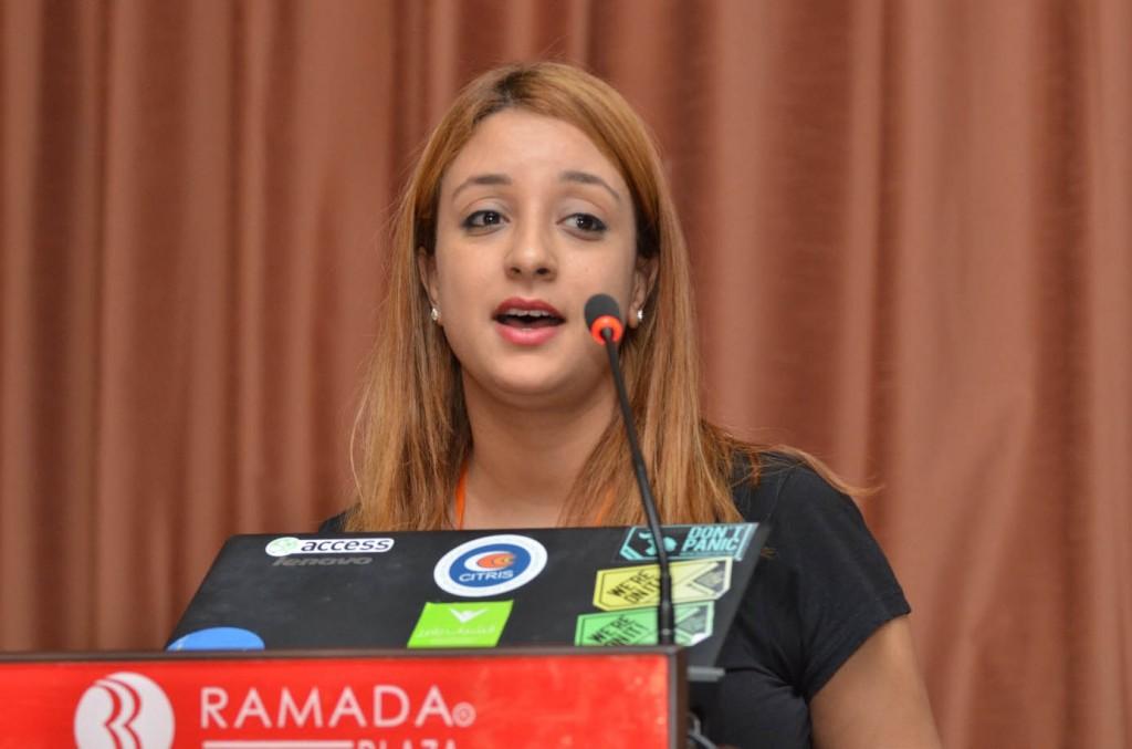 الآنسة ولاء قاسمي - ممثلة عن منظمة الشباب يقرر