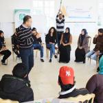 انطلاق المرحلة الثانية من مشروع شباب فاعل في جهة حي التضامن والمنيهلة ومنوبة