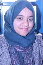 آمنة شعباني، طالبة بالمعهد العالي للعلوم البيوتكنولوجية التطبيقية