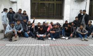 تونس: معطلو القصرين يعتصمون أمام مقر وزارة التشغيل - فيفري 2016