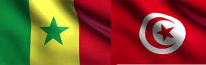 FLAG SENEGAL TUNISIA