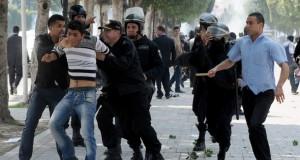 منظمة حقوقية تستهجن التهم الموجهة ضد كل من ينتقد السلوك الامني في تونس
