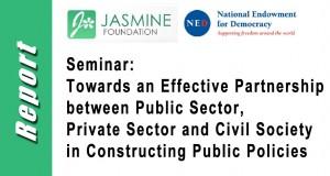 Seminar Report: Towards an Effective Tripartite Partnership