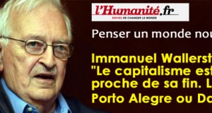 Immanuel Wallerstein:Le capitalisme est proche de sa fin