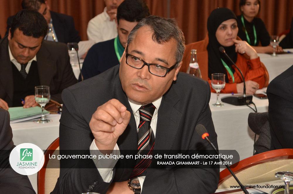 Conférence Annuelle 2014: Intervention du Prof. Taoufik Rajhi sur la gouverance publique en phase de transition démocratique