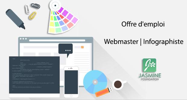 infographiste webmaster emploi