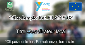 Offre d'emploi Réf. EU-2015-02