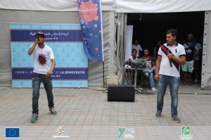 Yankou MC - Participant au projet Youth Act (Ben Arous)