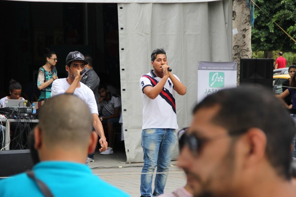 Show: Le Rappeur Yankou, participant au projet Youth Act