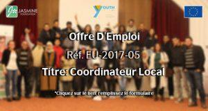 Offre D'Emploi Réf. EU-2017-05