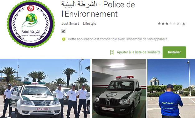 Téléchargez l'application de la Police Environnementale et signalez les abus