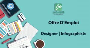 Offre d'emploi Designer | Infographiste Réf 07-17