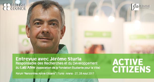 Entrevue avec Jérôme Sturla | Responsable des Recherches et du Développement au Lab'Afev (Association de la Fondation Étudiante pour la Ville)