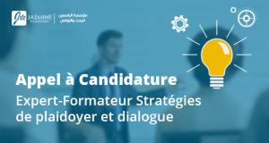 Appel à candidature | Expert-Formateur Stratégies de Plaidoyer et Dialogue